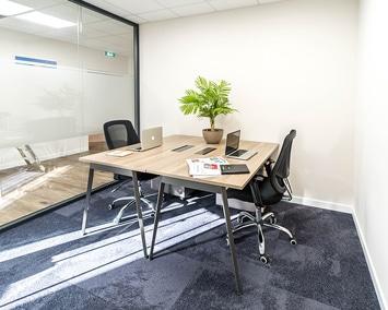 Centre d'affaires - Sundesk - Bureau privé 2 postes